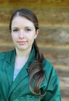 Foto: Portraitaufnahme von Frau M. Volkwein.